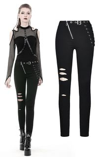 DARK IN LOVE-Goth-Punk Jeans