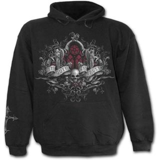 SPIRAL-In Goth We Trust Womens Hoodie